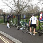 Transition session @ Regent's Park - main gates of the inner circle