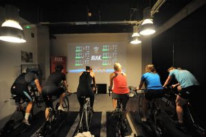 Cycling, smart trainer Session @ RIAK Fitness, Studio 7